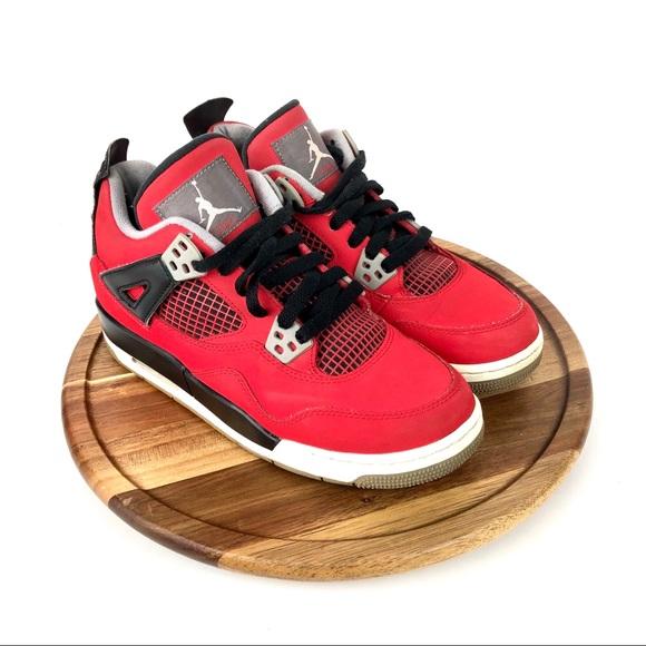 f5276772c99fb1 Nike Air Jordan Retro 4 IV Toro Bravo Size 5.5. M 5c92f88b5c445219e5320674